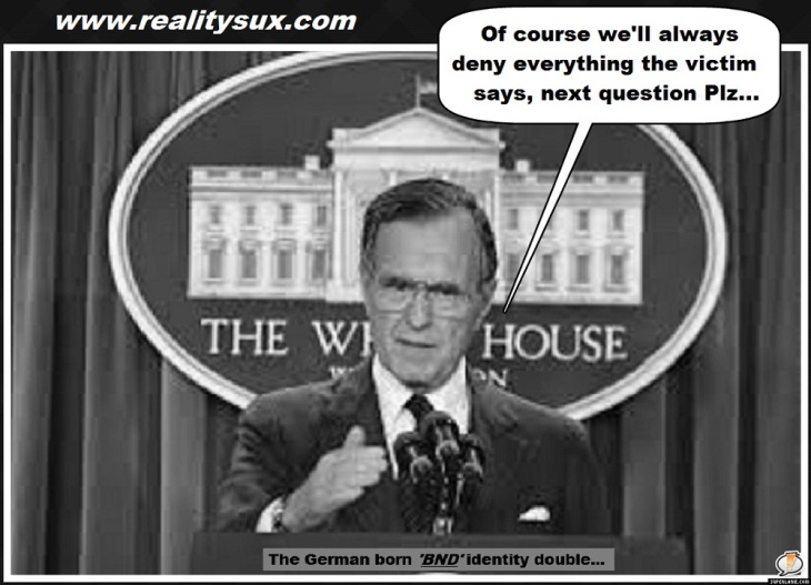 Bush 41 victim reality sux