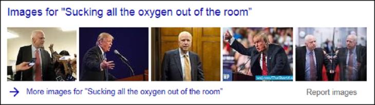 McCain Trumpf Tillerson sucking all of the pxygen