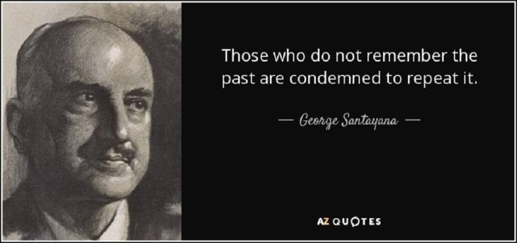 Satayana George repeat the past