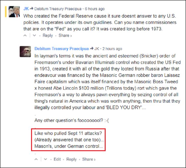 0005000 Masonic manipulations US Fed
