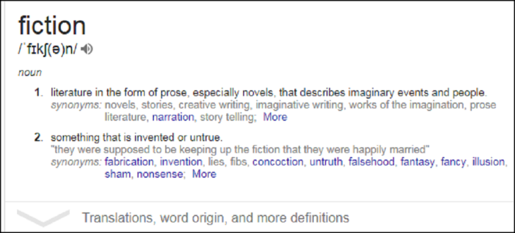 ADDO Fiction meaning