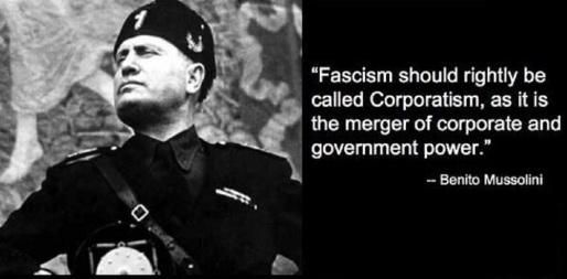 Facism Corporatism Mussolini