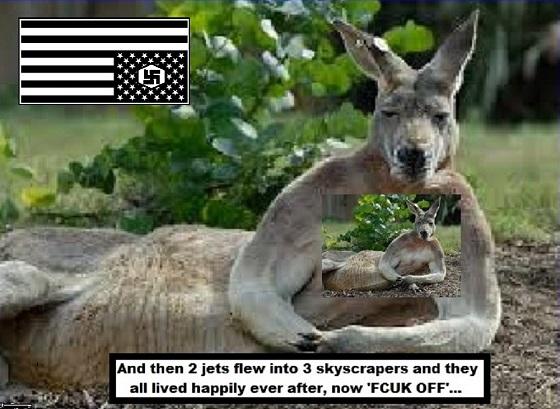 Kangaroo Nazi patriot 560