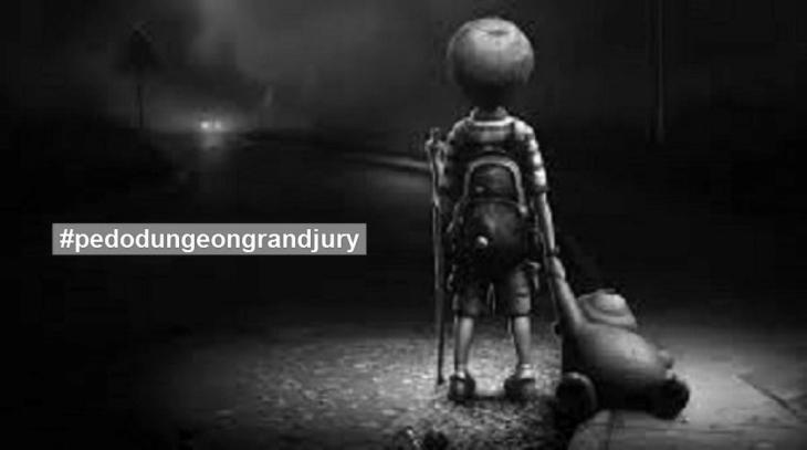 Pedo dungeon grand jury hashtag