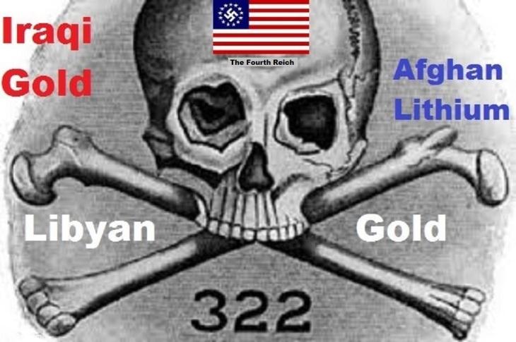 Skull and Bones Nazi 322 Iraqi Libyan gold Lithium
