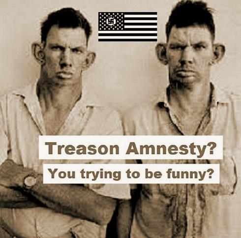 Treason Amnesty inbred hillbilly 490