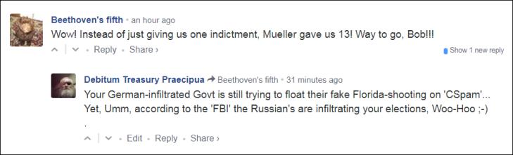 0005000 Snarky faking Florida-shooting FBI Russia