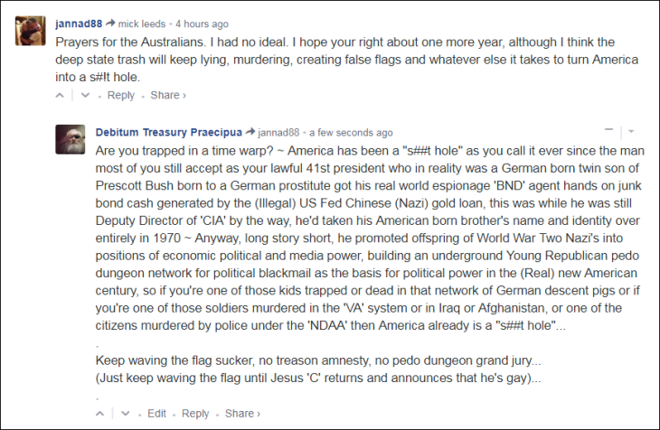 0005000 Troutmouth in 2020 Nazi America