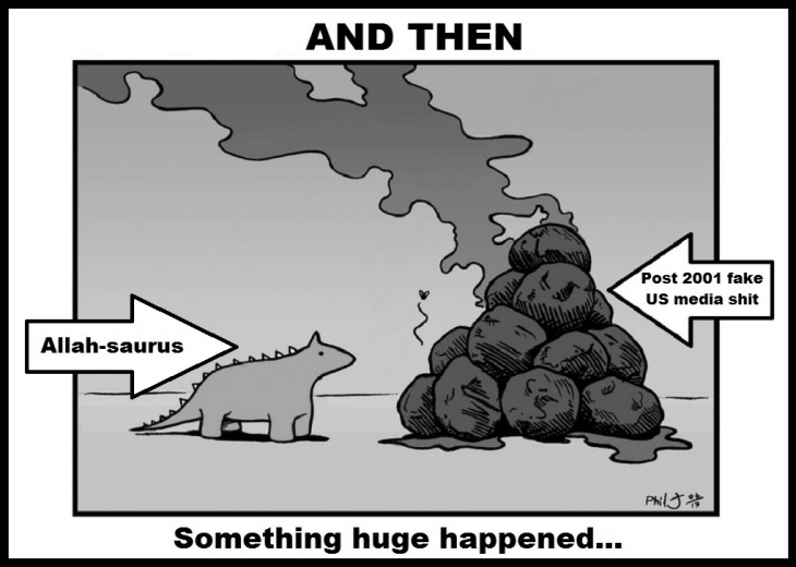 Allah Saurus post 911 media shit