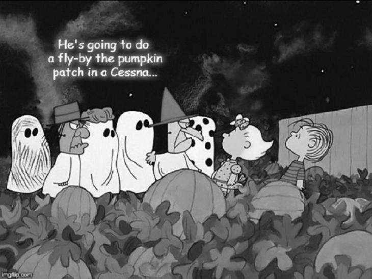 Charlie Brown Linus Great Pumkin