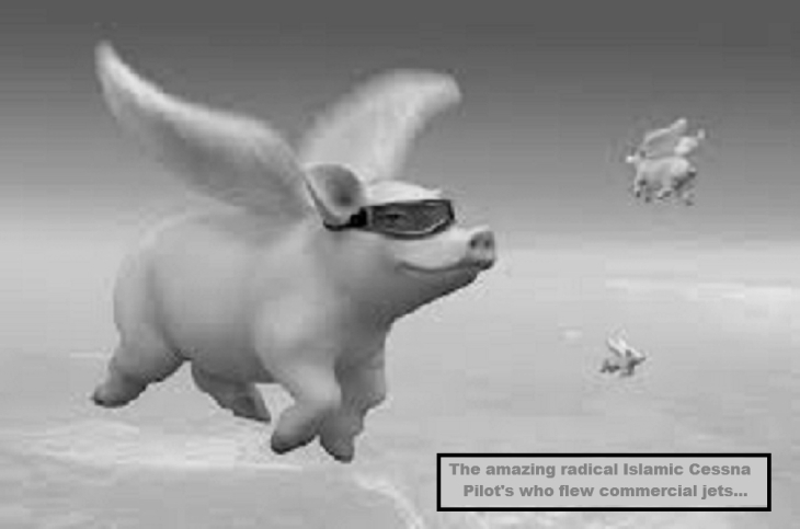 Islamic pigs might fly BW