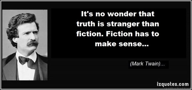 Mark Twain fiction truth