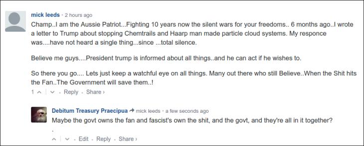 0006000 ~ Fascist fan, fascist govt, fascist shit