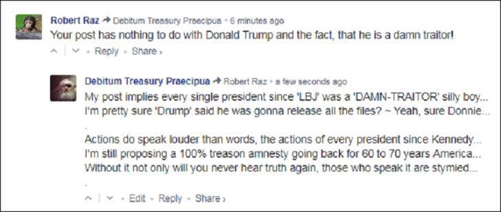 0008000 Greatest president ever ~ Treason amnesty traitor Drump