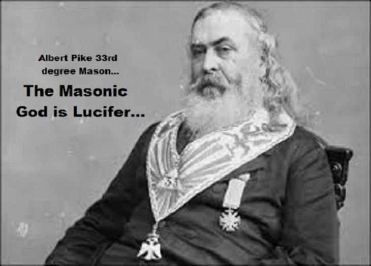Albert Pike the Masonic god