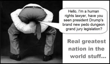Head up ass, Drump's pedo grand jury legislation (2)