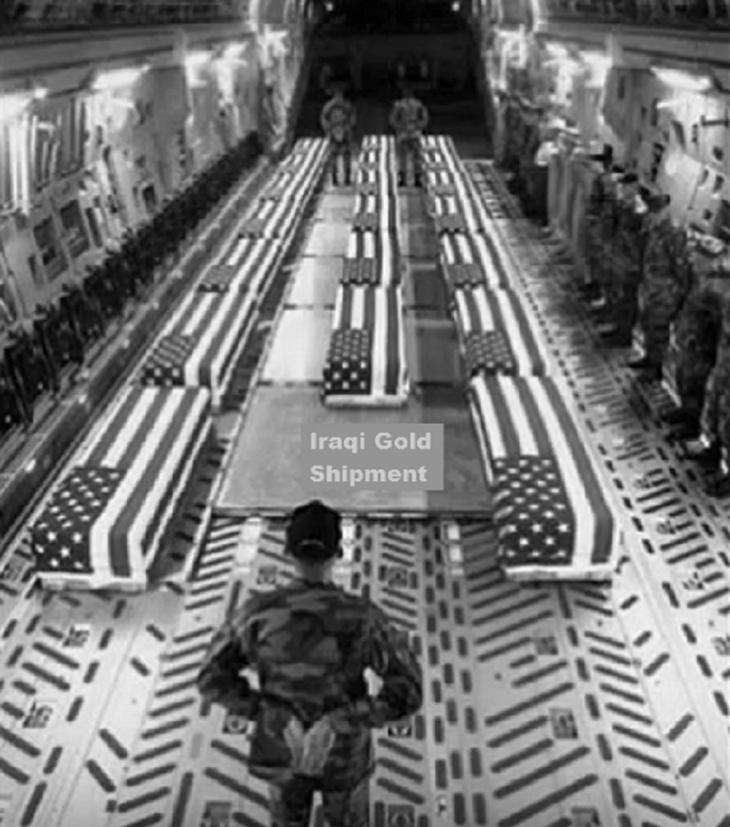Iraq Gold Coffins black and white (2)