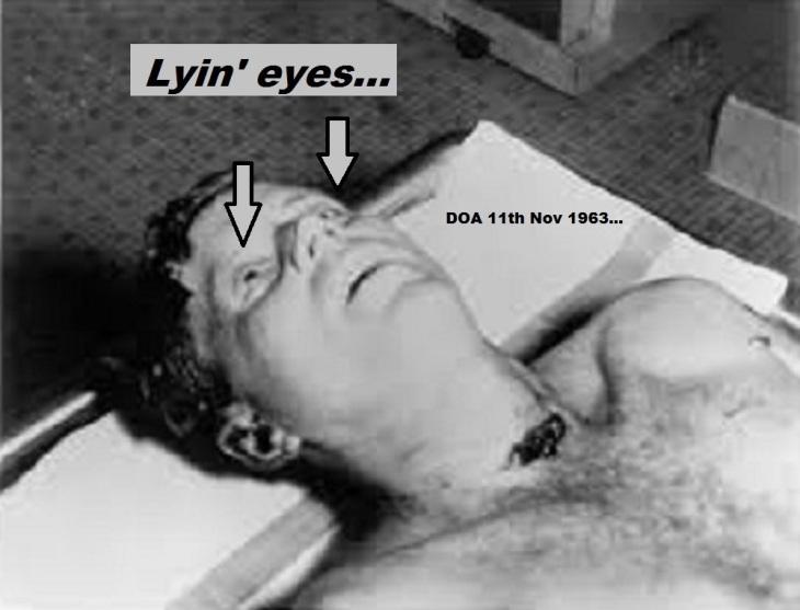 JFK Kennedy Lying Eyes 1963
