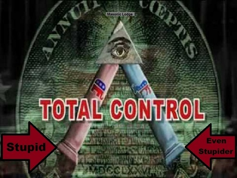 Masonic GOP x Dem dichotomy 490