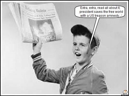 Newsboy president treason amnesty 490
