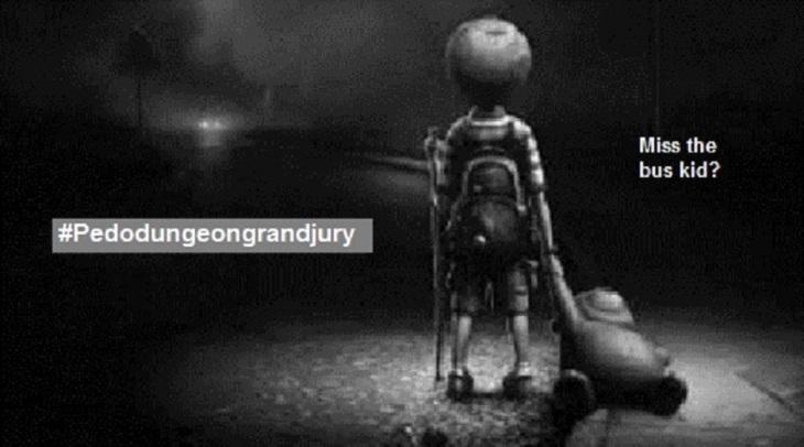 pedo-dungeon-grand-jury-hashtag ~ Miss the bus kid 800