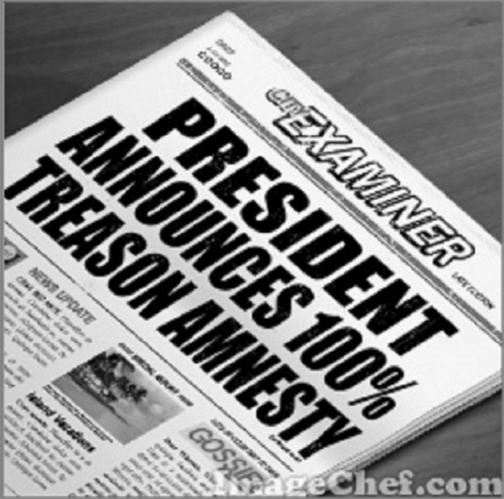 President amnesty news headline