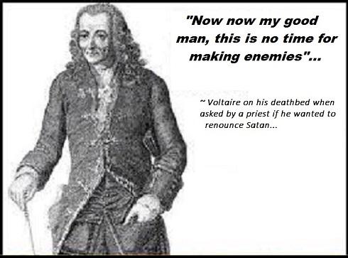 Voltaire ~ Satan ~ Enemies 490