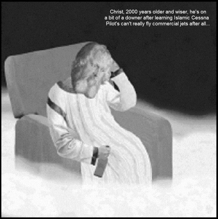 0005000 Death becomes her ~ Christ on a downer