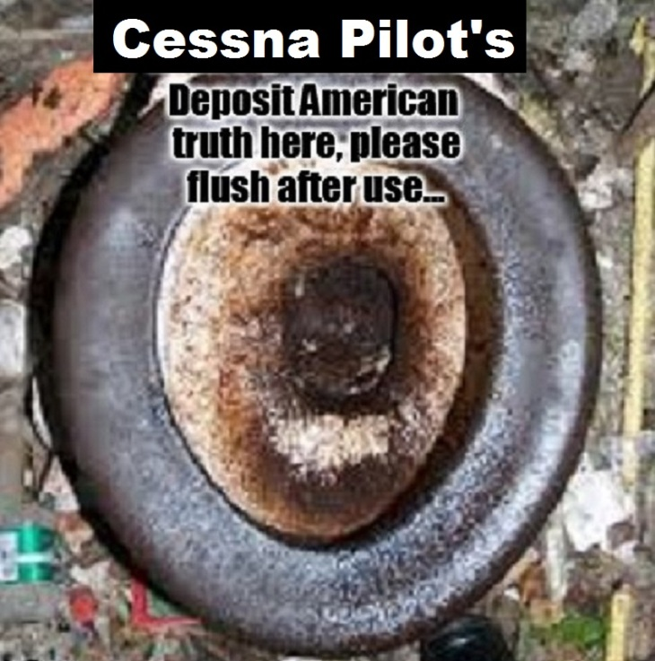America toilet ~ Please flush ~