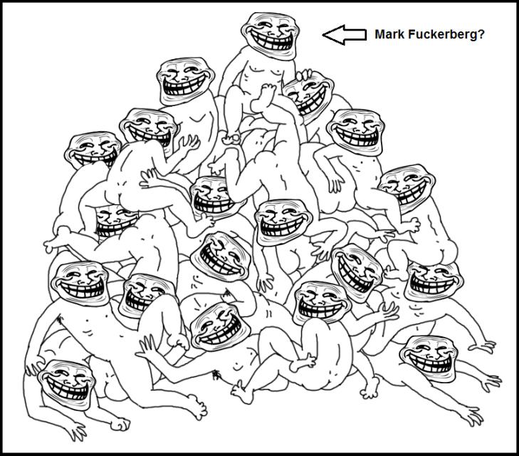 Grin guy orgy ~ Mark Fuckerberg