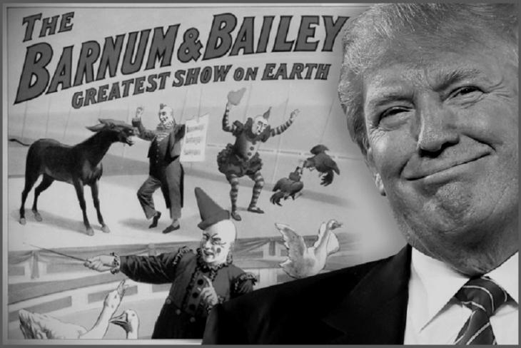 Grump Trump greatest show darker