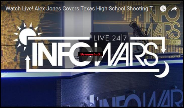 Alex Jones school shooter LIVE