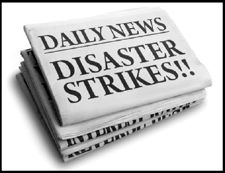 Daily News disaster strikes