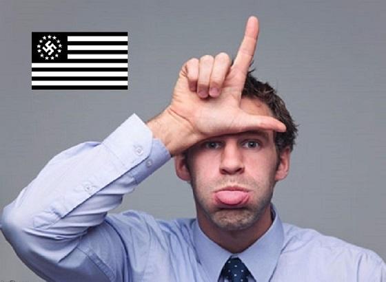 American Nazi loser 560