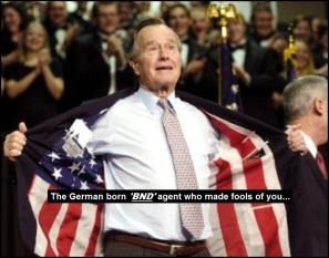 George Herbert Walker Bush the German born BND agent