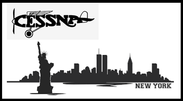 New York Cessna Pilot borderless 600