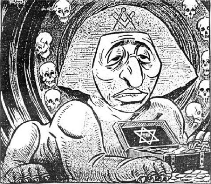 Sphynx Sphinx Zionj Zionist Gold Masonic (2)