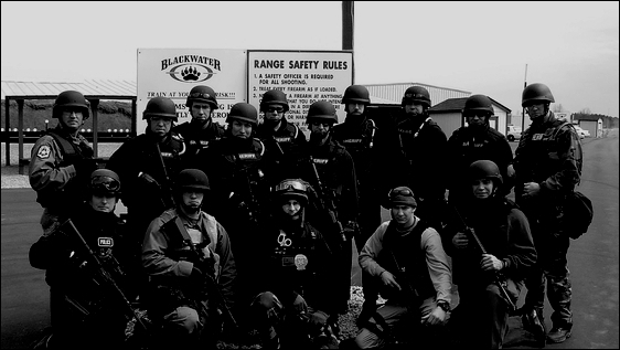 Blackwater Security border BW 560