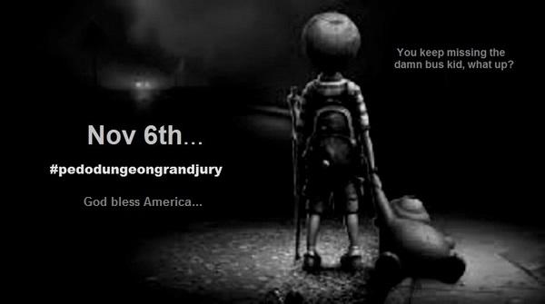miss-the-bus-kid-pedo-dungeon god bless America Nov 6 ~ 600