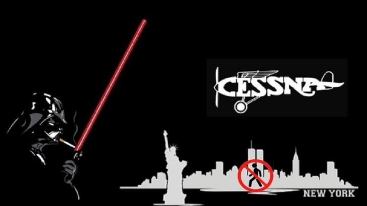 Darth Vader New York Cessna BAN Perspectives
