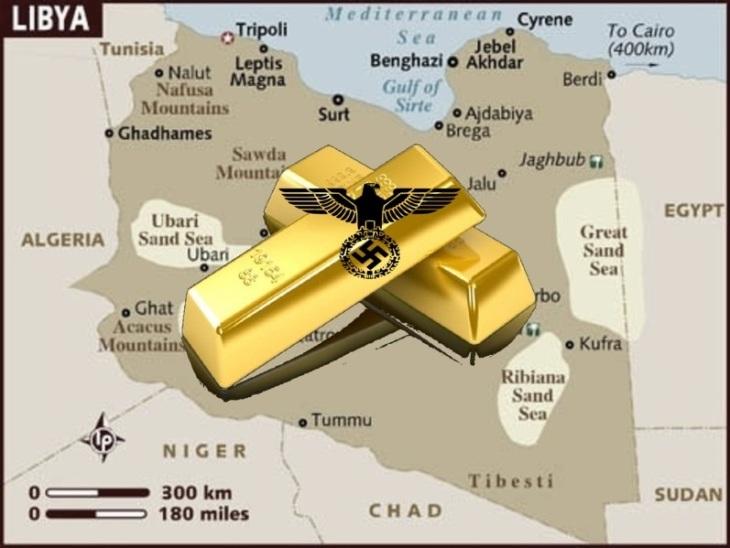 Libyan gold Nazi's