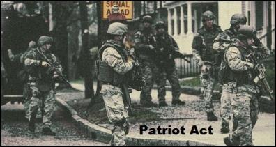 Martial Law PATRIOT ACT 600