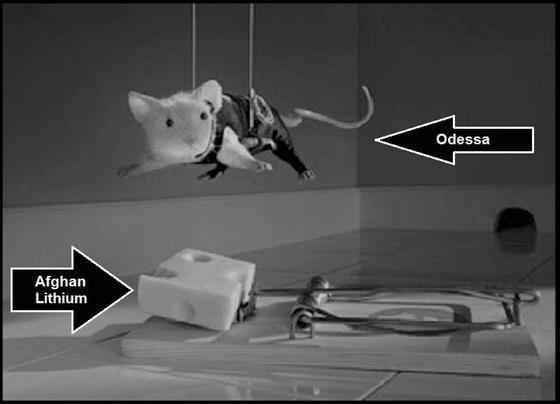 Odessa Afghan Lithium rat trap lighter 560