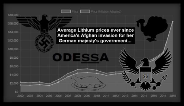 Odessa Afghan Lithium turkey 600