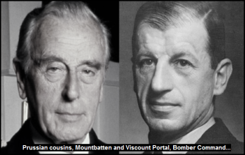 Prussian cousins, Mountbatten x Portal Bomber Command 600