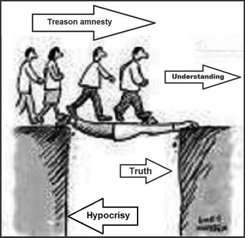 Treason amnesty hypocrisy 490