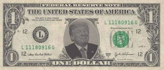 Trump ONE DOLLAR 560