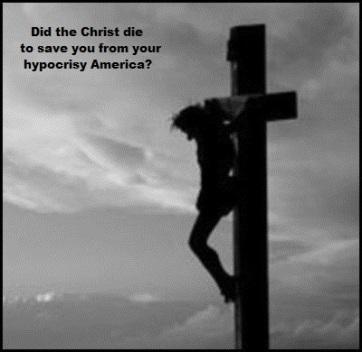 Christ cross hypocrisy 400