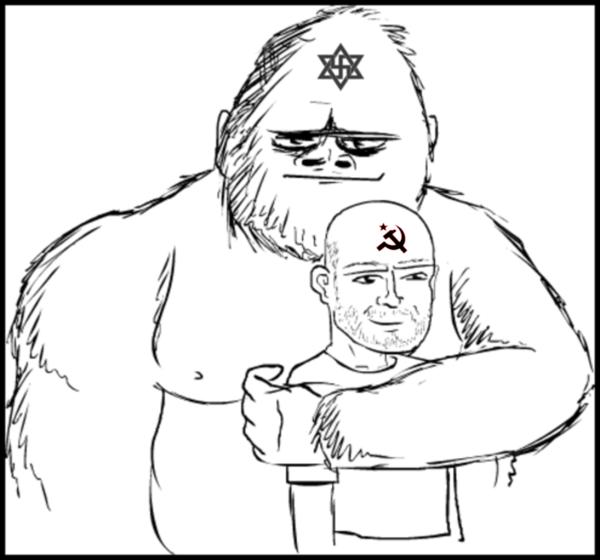 Communist ape and best friend 600