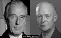 Mountbatten Eisenhower COUSINS 560